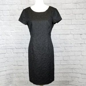 Talbots Linen Eyelet Career Dress NWT